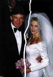 marla maples divorce settlement