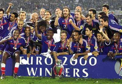 L 39 euro 2000 rev t les couleurs de la france - Coupe d europe 2000 finale ...