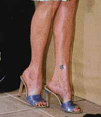 Fétiche des pieds femme noire