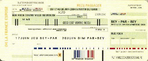 Un véritable appel au voyage avec un billet d'avion en guise d